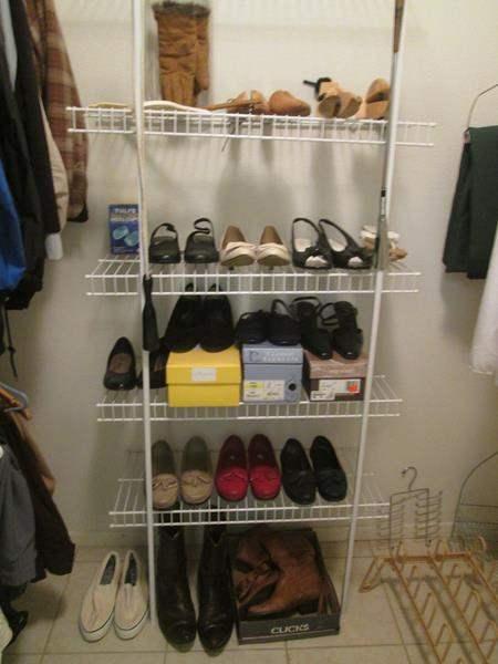 Lot # 43 - Ladies Shoes & Boots + Shoe Trees (main image)