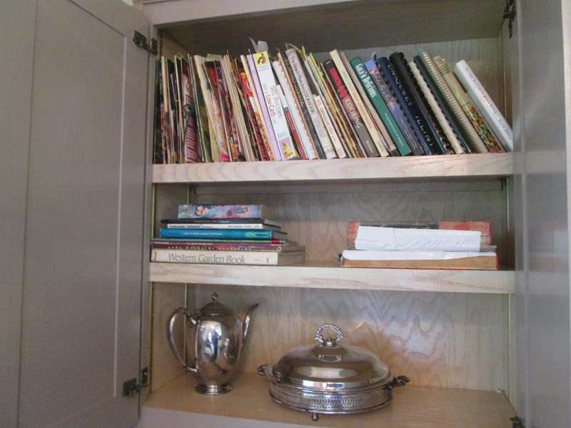 Lot # 59 - Cookbooks & Serving Pieces (main image)