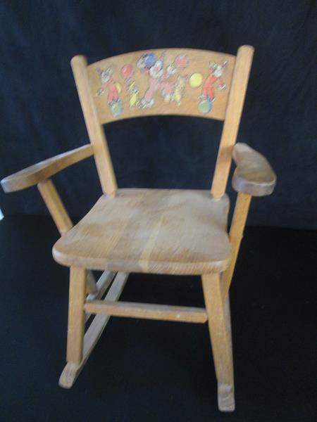 Lot # 102 - Older Rocking Chair (Childs) (main image)