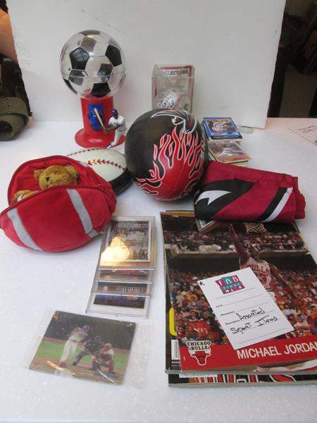 Lot # 104 - Assorted Sports Collectibles (main image)