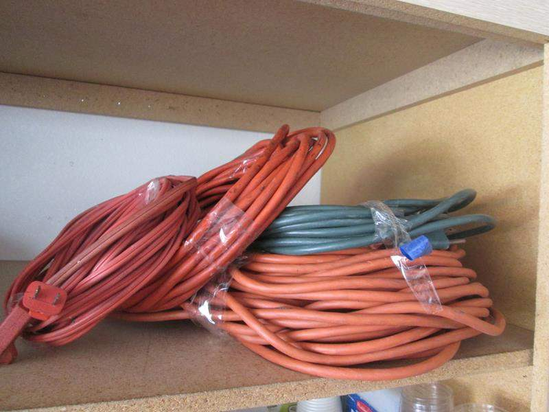 Lot # 71 - 4-Extension Cords (main image)