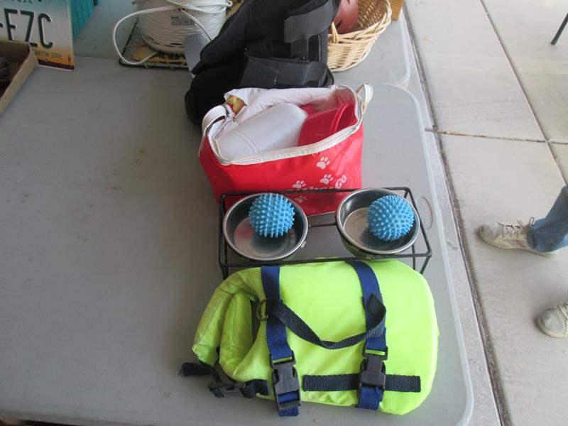 Lot # 81 - Pet Items + Max Trak Boot (main image)