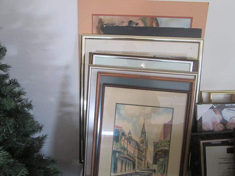 Lot # 90 - Assorted Framed Wall Art, 10 pieces (main image)