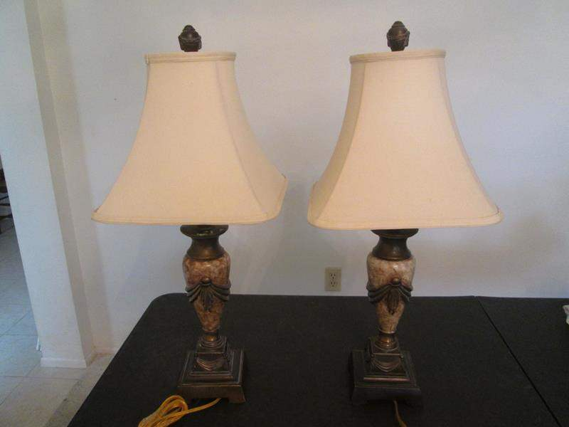 Lot # 221 - 2-Table Lamps (main image)