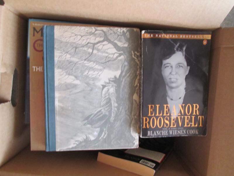 Lot # 133 - Box of Books (main image)