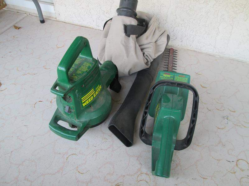 Lot # 150 - Blower & Hedge Trimmer (main image)
