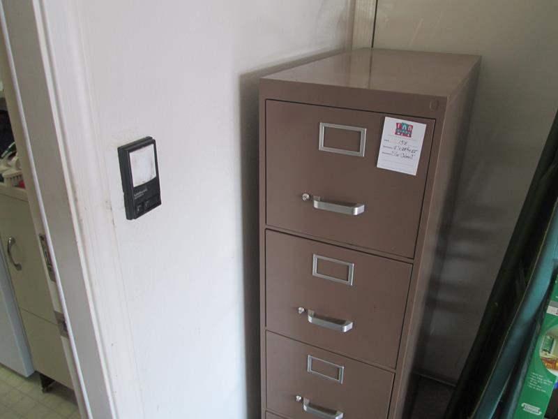Lot # 154 - 4-Drawer File Cabinet (main image)