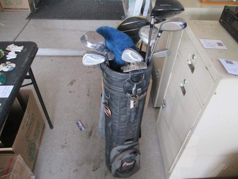 Lot # 167 - 12-Golf Clubs and Bag, Datrek (main image)