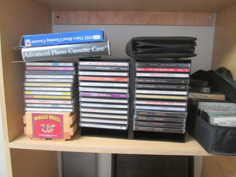 Lot # 170 - Variety of CD's & Case (main image)