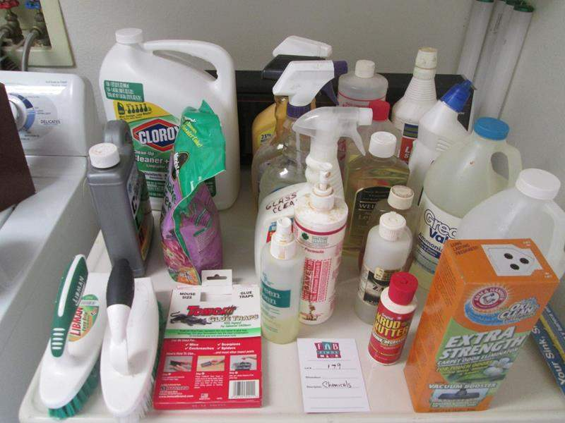 Lot # 179 - Assorted Chemicals (main image)
