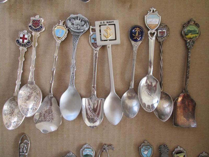 Lot # 191 - 10-Collector Spoons (main image)