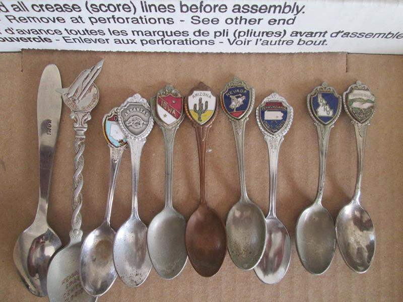 Lot # 193 - 10-Collector Spoons (main image)