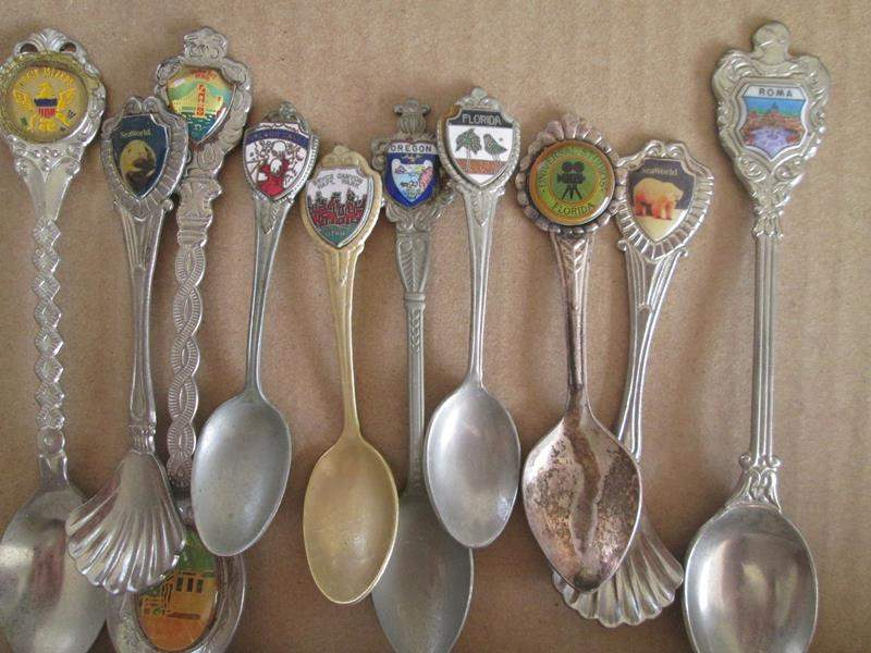 Lot # 195 - 10-Collector Spoons (main image)