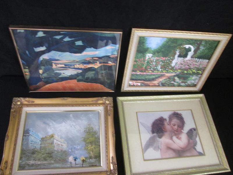 Lot # 233 - 4-Framed Pictures (main image)