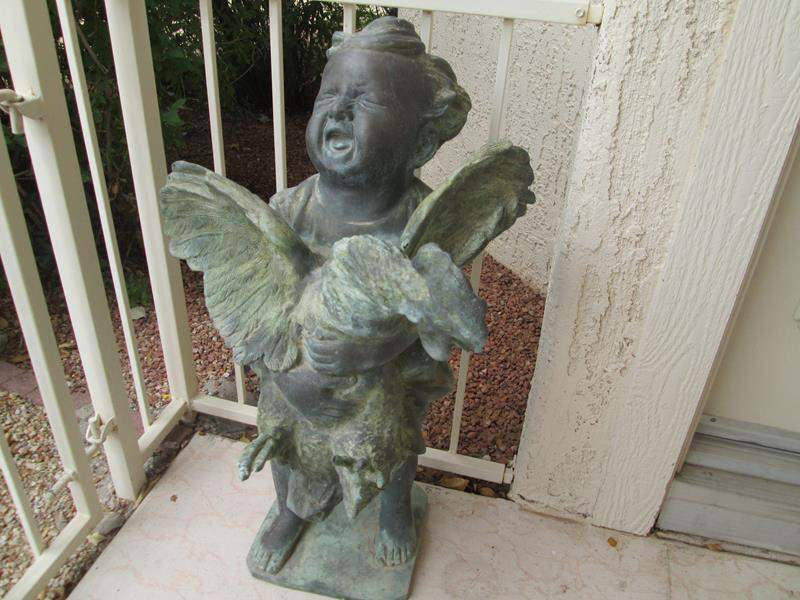 Lot # 241 - Tall Yard Sculpture (main image)