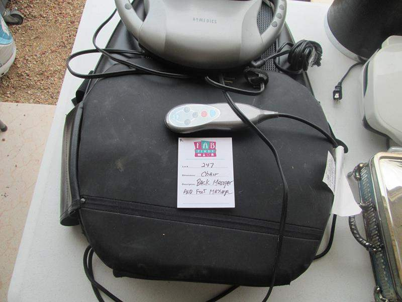 Lot # 247 - 2-Electric Massage Devices (main image)