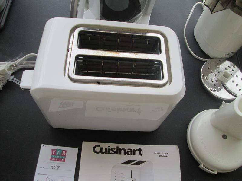 Lot # 257 - Cuisinart 14-Cup Coffee Maker + Cuisinart Toaster (main image)