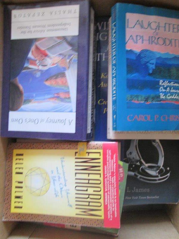 Lot # 132 -  Box of Books (main image)