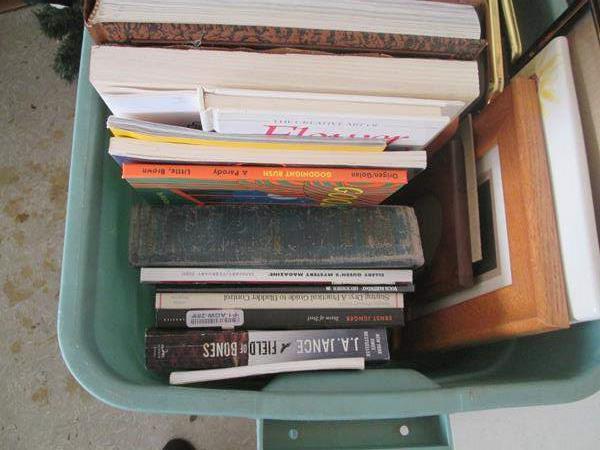 Lot # 151 - Books, Badge Holders & Small Frames (main image)