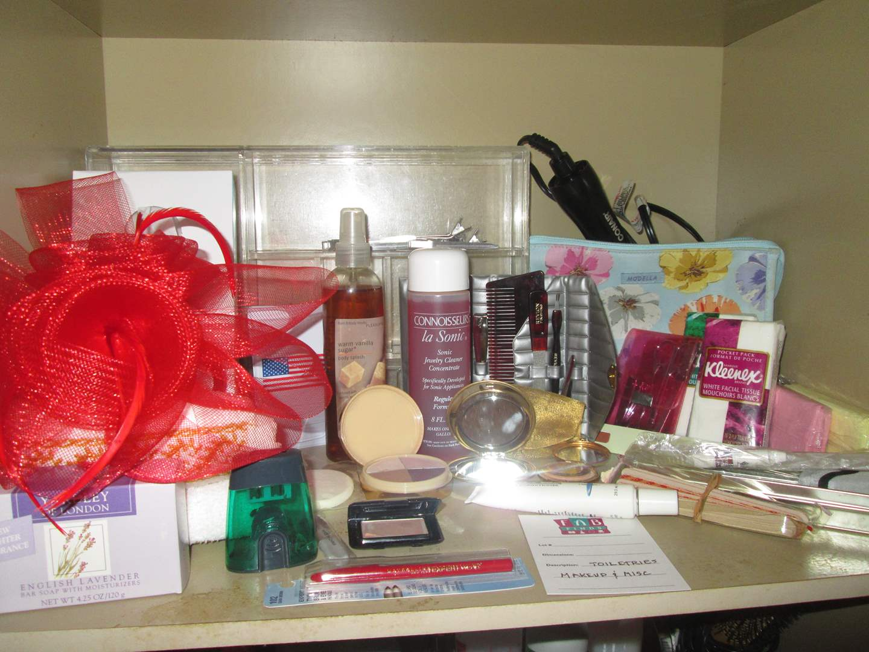 Lot # 2 - Bath & Personal Care Items + Make-Up (main image)