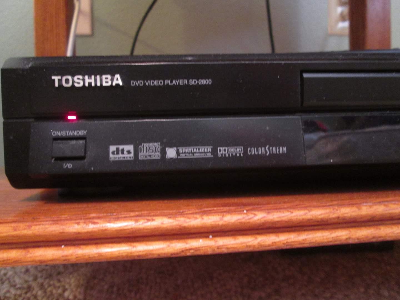 Lot # 23 - Toshiba DVD Video Player #SD-2800 (main image)