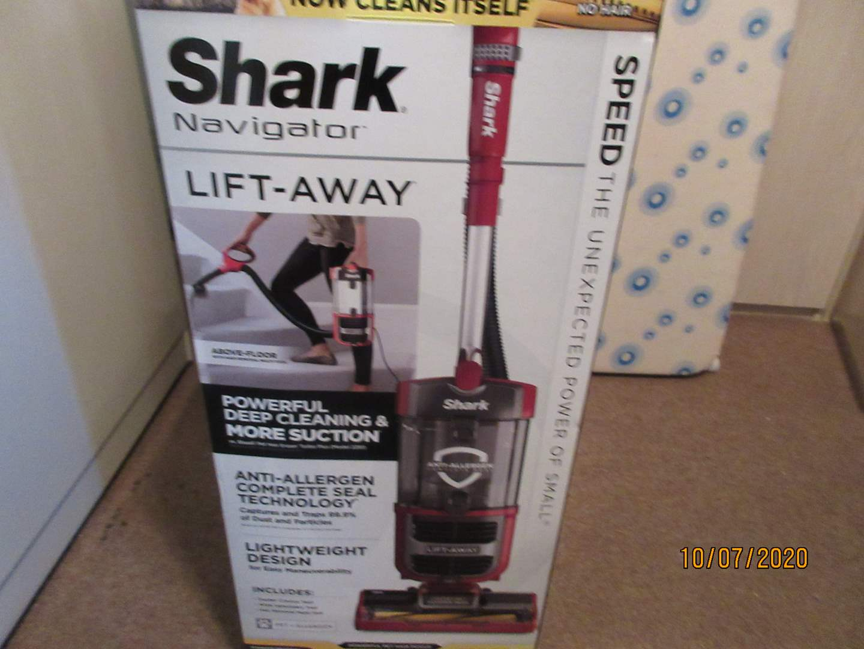 Lot # 99 - Shark Navigator Vacuum, Like New! (main image)