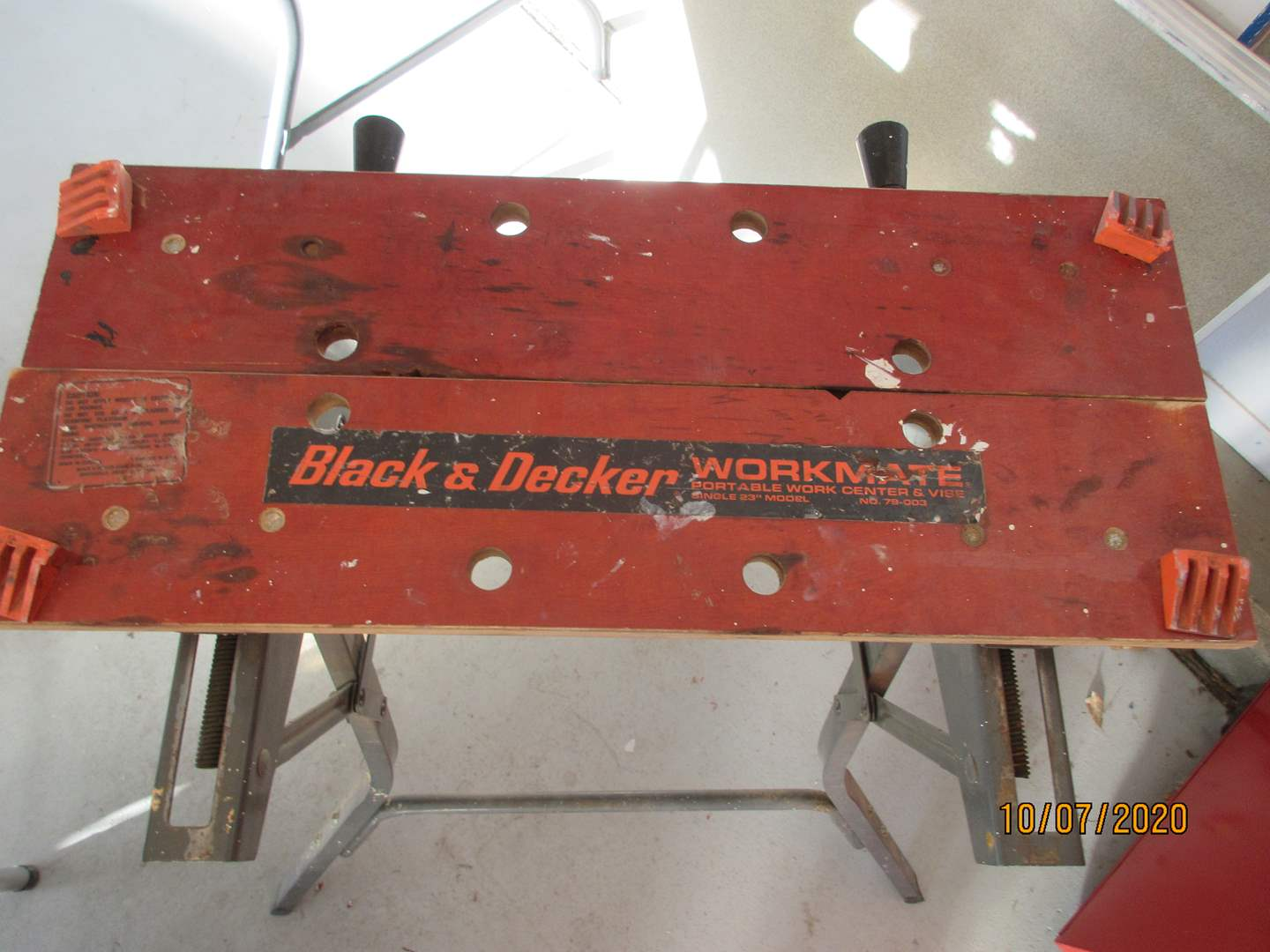 Lot # 107 - Black & Decker Workmate (main image)