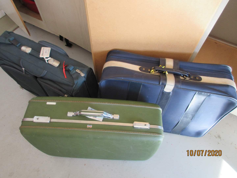 Lot # 124 - Luggage including Vintage Case (main image)