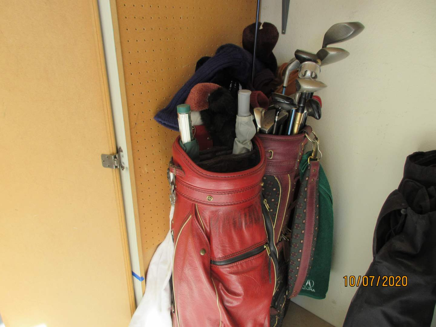 Lot # 130 - Golf Clubs with 2-Bags & 2-Umbrellas (main image)