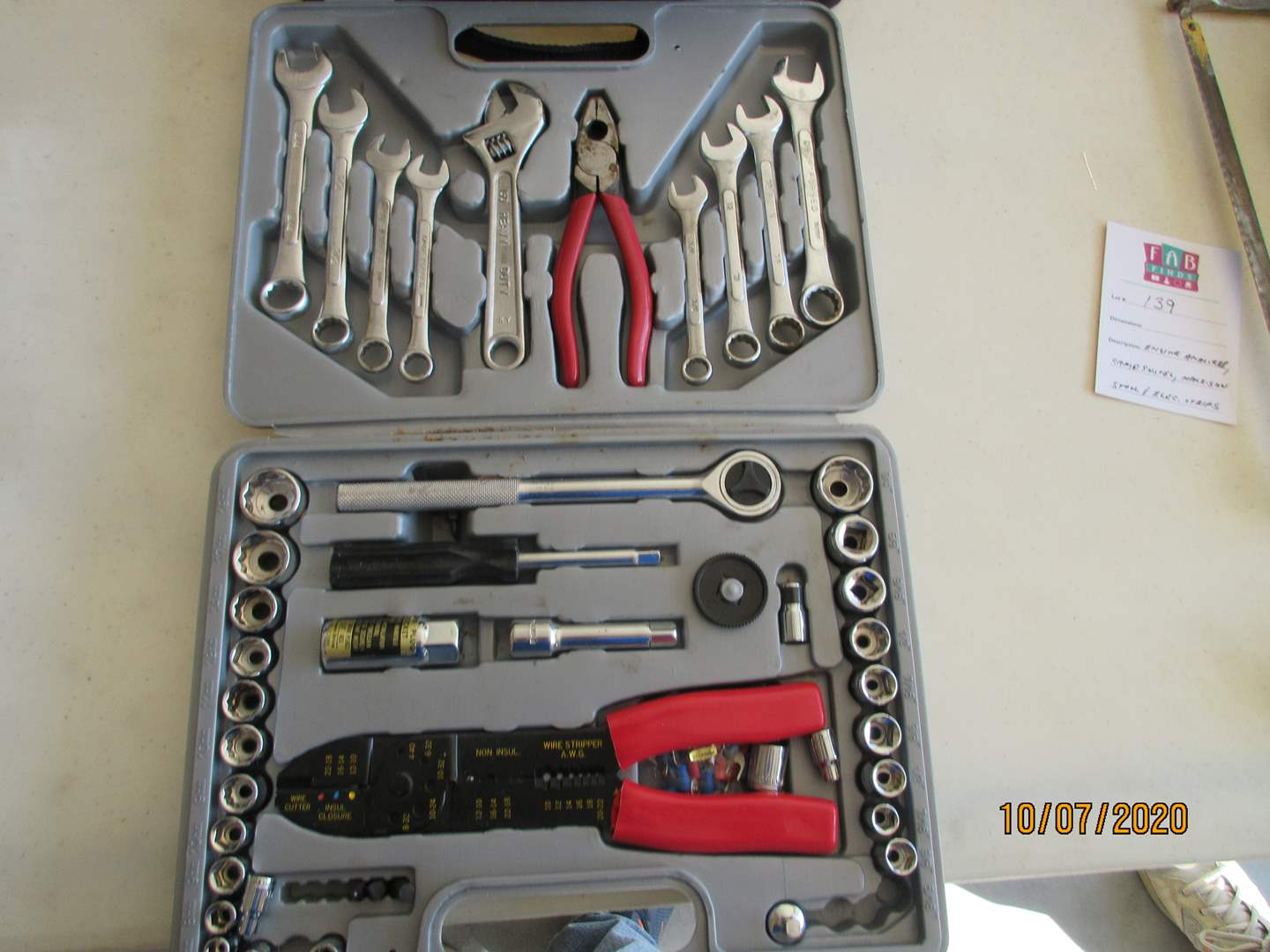 Lot # 138 - Craftsman 12V Drill & Ratchet Set (main image)