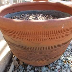 Auction Thumbnail for: Lot # 167 - 2-Terra Cotta Planting Pots