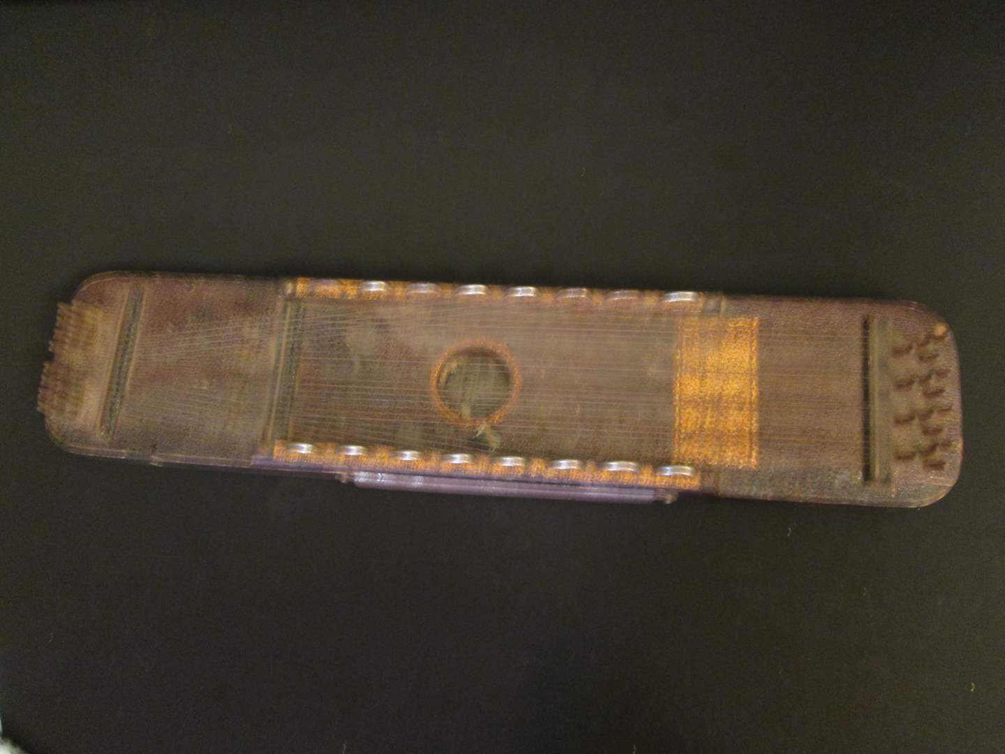 """Lot # 185 - 25"""" Vintage Zither (main image)"""
