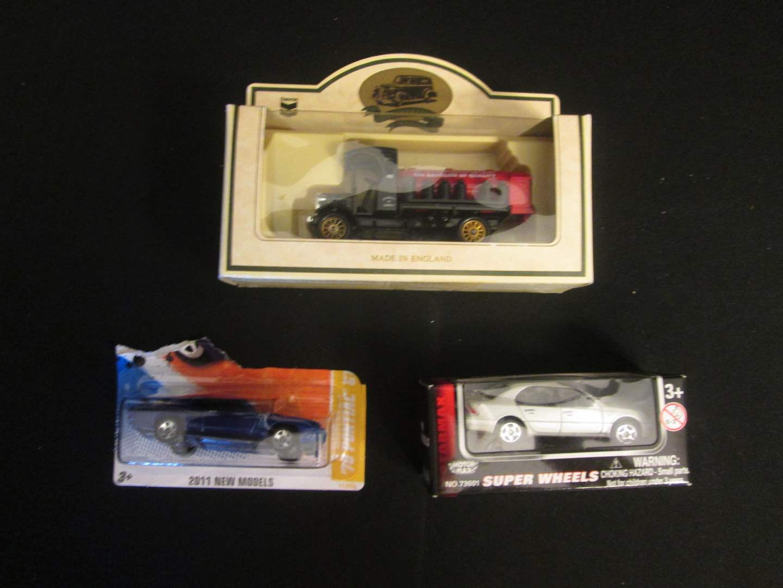 Lot # 195 - Model Cars:  Super Wheels, Red Crown, '70 Pontiac (main image)