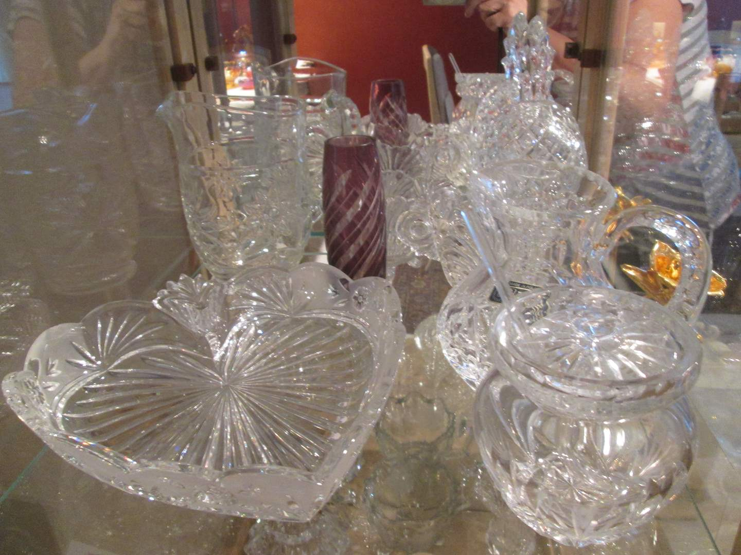 Lot # 210 - Crystal & Glassware, 8 Pieces (main image)