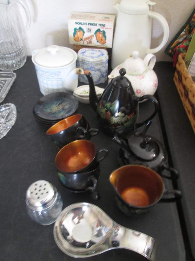 Lot # 222 - Tea Time:  Tea Pots & Sets (main image)
