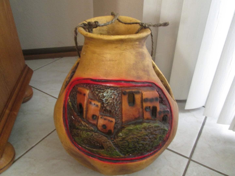 """Lot # 233 - 14"""" High Decorative Pot (main image)"""