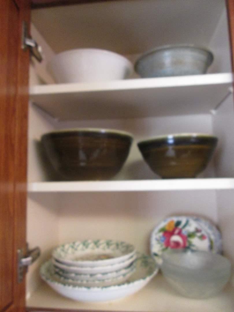 Lot # 250 - Pasta Set & Assorted Bowls (main image)