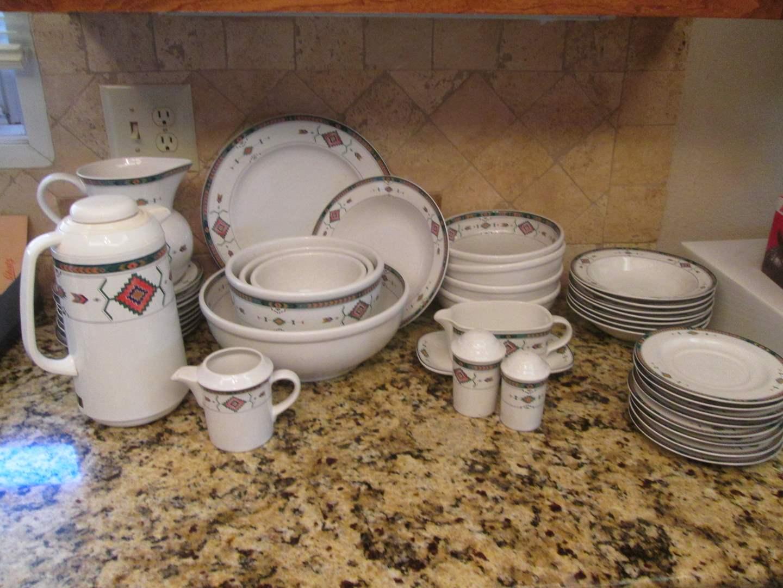 "Lot # 260 - Studio Nova Dishes ""Adirondack"" (main image)"