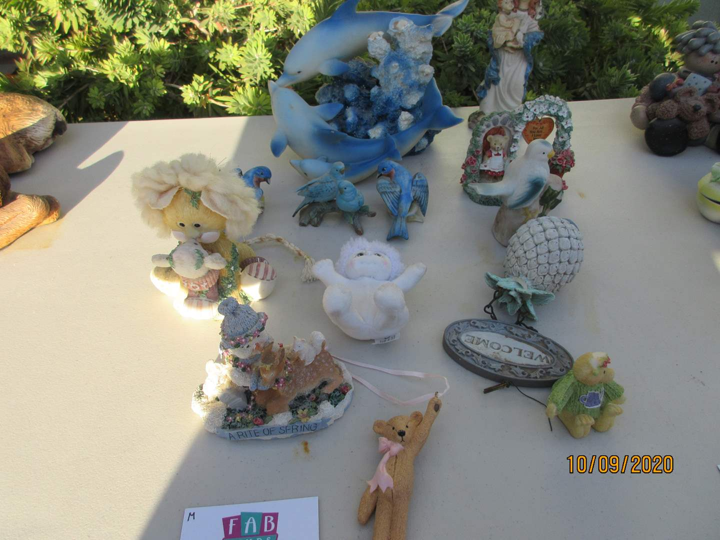 Lot # 300 - Dolphin Sculpture & Assorted Nick Nacks (main image)