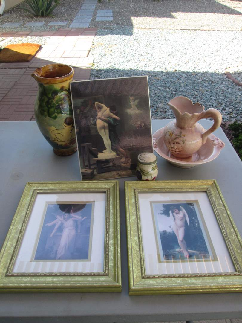 Lot # 271 - Pottery & Pictures (main image)
