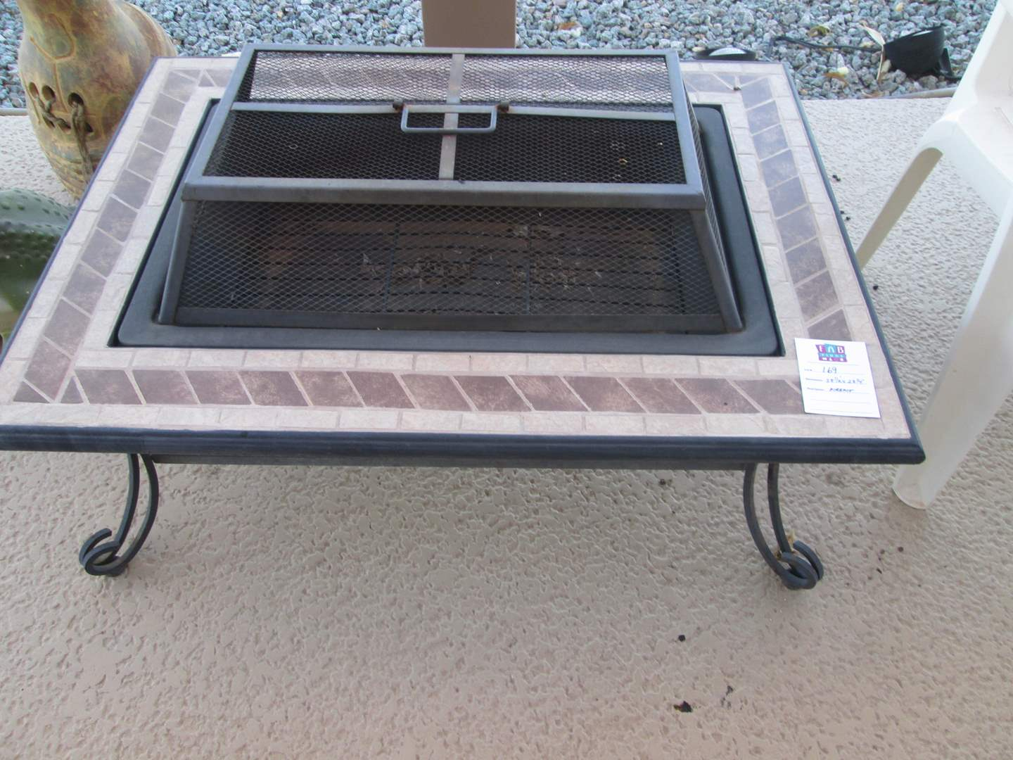 Lot # 169 - Firepit (See measurements in photos) (main image)