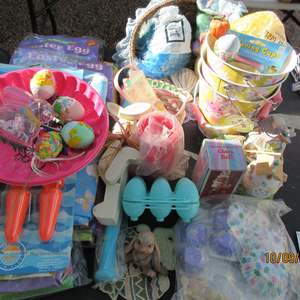 Auction Thumbnail for: Lot # 317 - Easter Bunnies & Decor