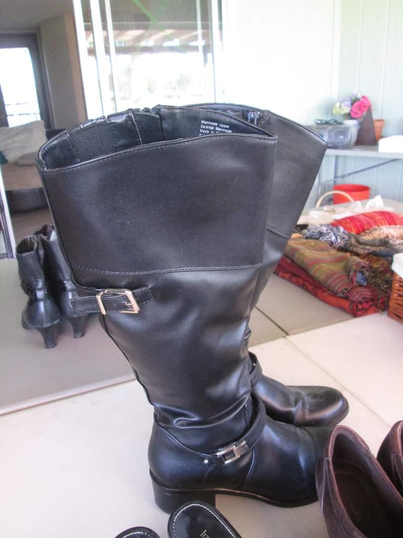 Lot # 282 - Ladies Shoes & Boots (8 M) (main image)
