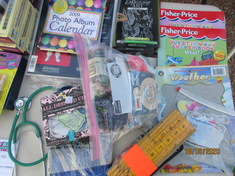Lot # 323 - Variety of Craft Supplies (main image)