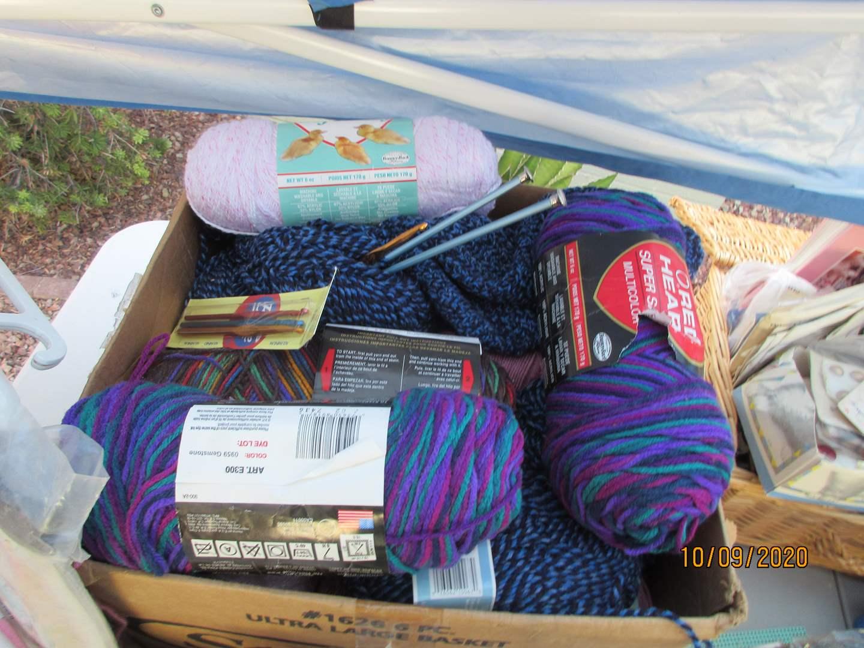 Lot # 324 - Knitting & Needlepoint (main image)