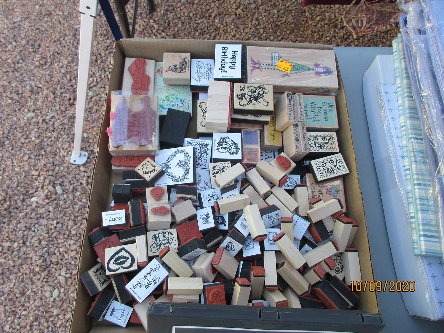 Lot # 330 - Stamps & Punches (main image)