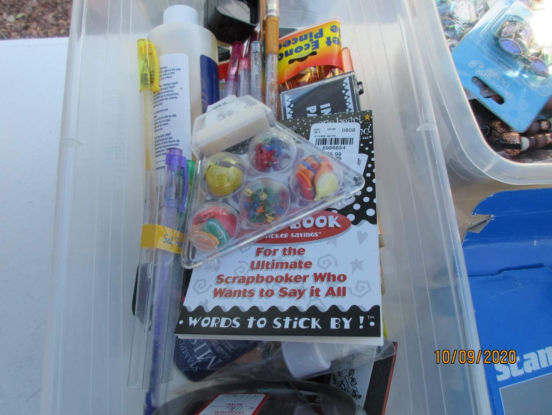 Lot # 336 - Miscellaneous Art Supplies (main image)