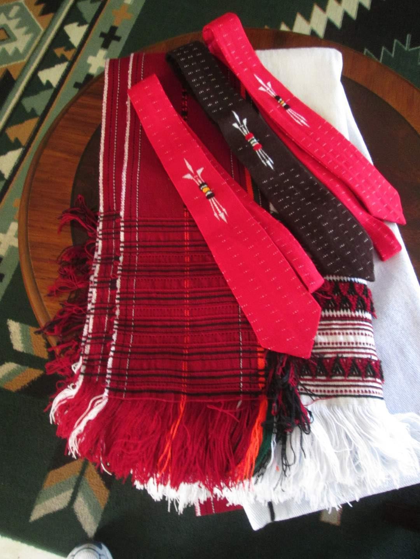 Lot # 244 - Blanket & Ties (main image)