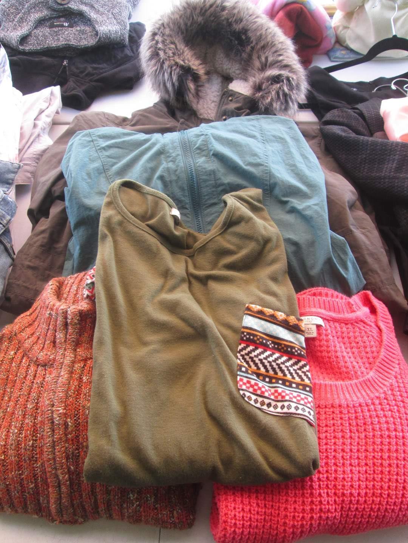 Lot # 279 - Ladies Jackets & Sweaters (L/XL) (main image)