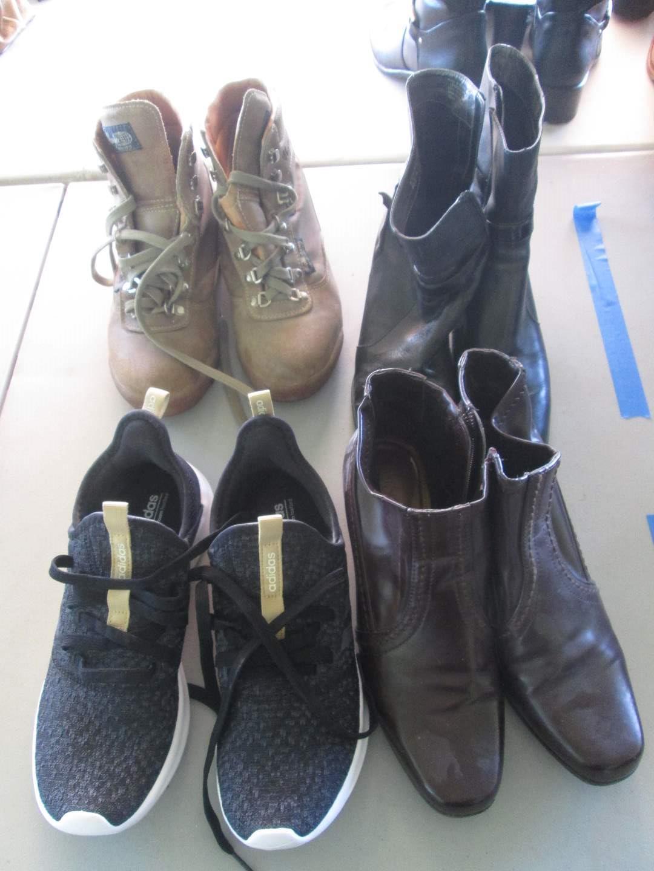 Lot # 285 - Boots & Shoes (8) (main image)